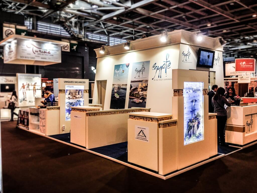 1- Egypt Pavilion - SALON MONDIAL DU TOURISME 2014 - Paris - France