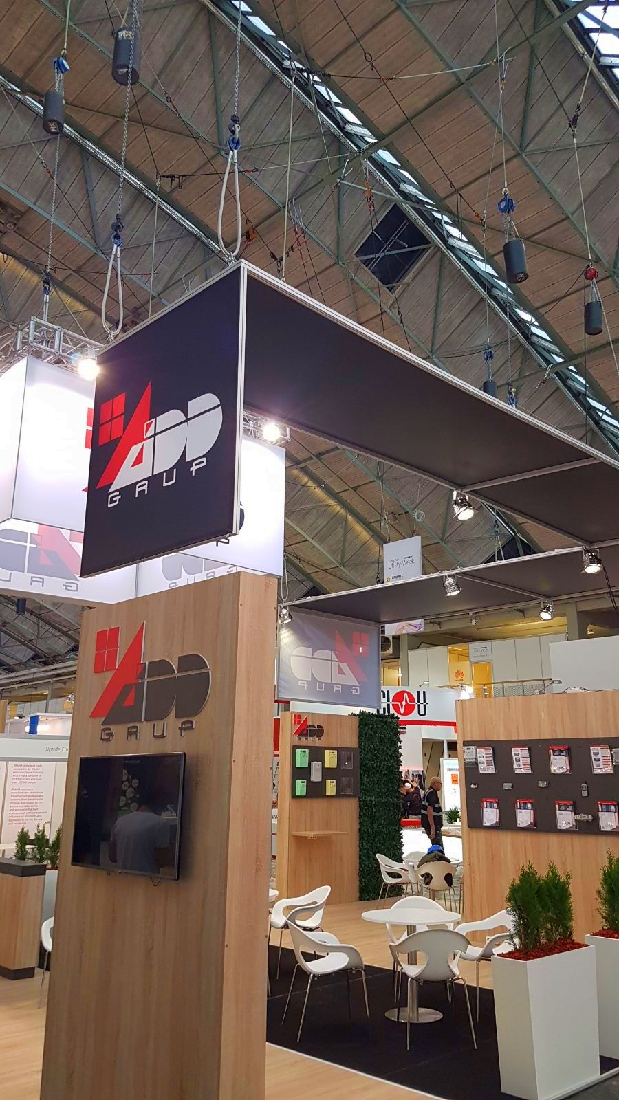 exhibition stand builder for EUW Amsterdam