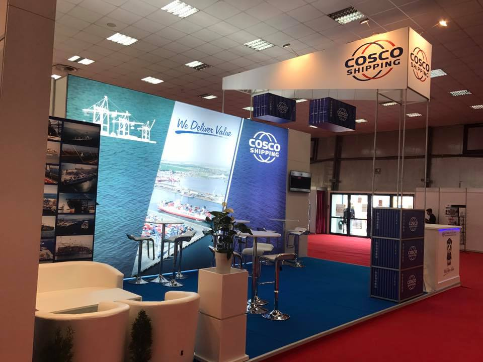 cosco shipping lines booth translogistica 2017