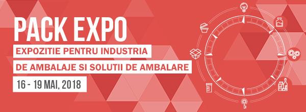 standuri expozitionale personalizate Pack Expo 2018