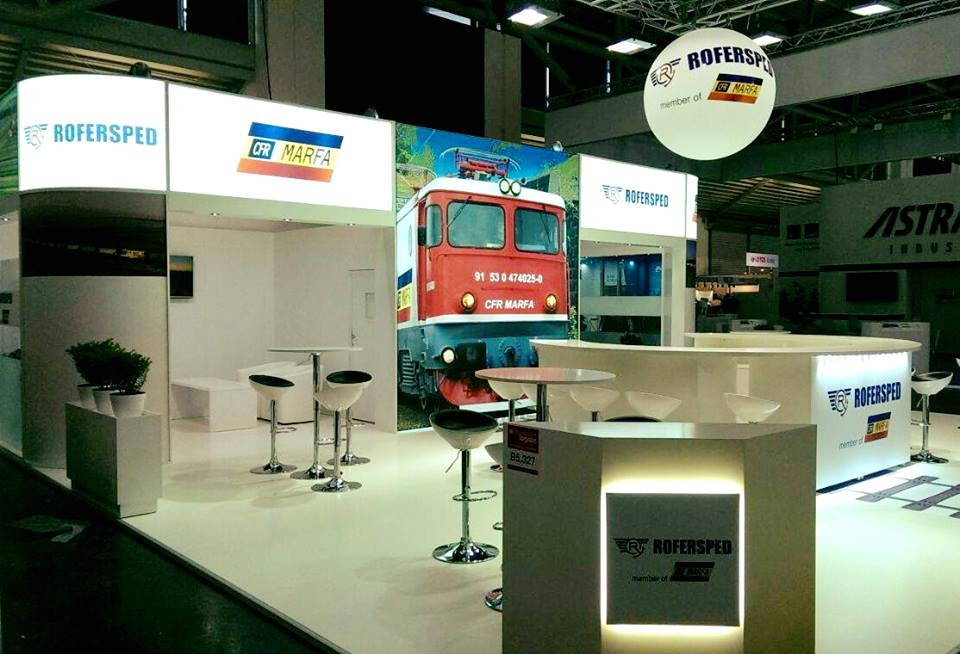 rofersped booth transport logistic munchen